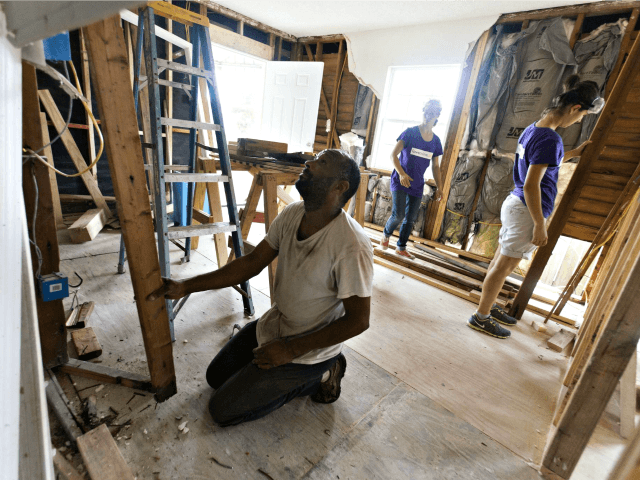 Katrina Aftermath, Rebuilding Lee Celano AFPGetty Images