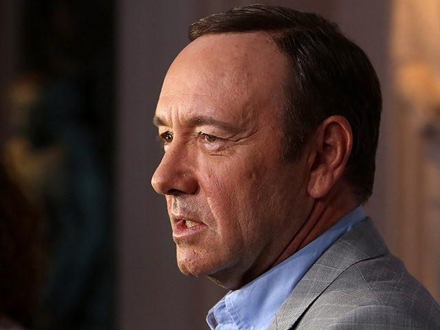 NORTH HOLLYWOOD, CA - APRIL 25: Actor Kevin Spacey attends Netflix's 'House of Cards' For Your Consideration Q&A on April 25, 2013 at the Leonard H. Goldenson Theatre in North Hollywood, California. (Photo by Jesse Grant/Getty Images for Netflix)