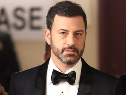 HOLLYWOOD, CA - FEBRUARY 26: Host Jimmy Kimmel backstage during the 89th Annual Academy Awards at Hollywood & Highland Center on February 26, 2017 in Hollywood, California. (Photo by Christopher Polk/Getty Images)