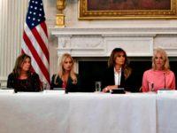 Melania Trump Opioid Treatment Carolyn KasterAP