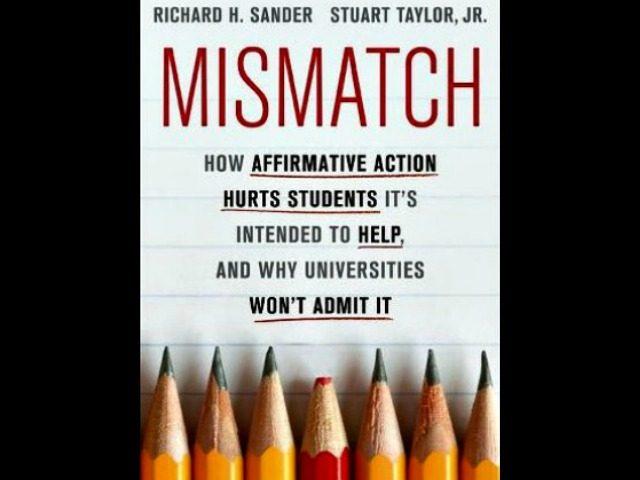 Mismatch Bookcover by Richard H. Sander