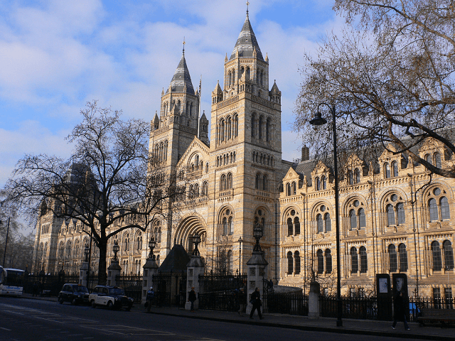Man arrested after vehicle ploughs into crowd — Natural History Museum