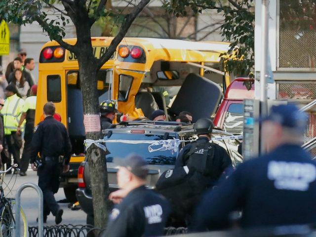 New York City terrorist attack on October 31, 2017