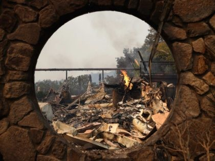 Napa Wine Country fires (Justin Sullivan / Getty)