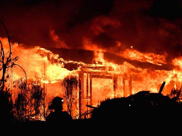 Napa fire (Josh Edelson / AFP / Getty)