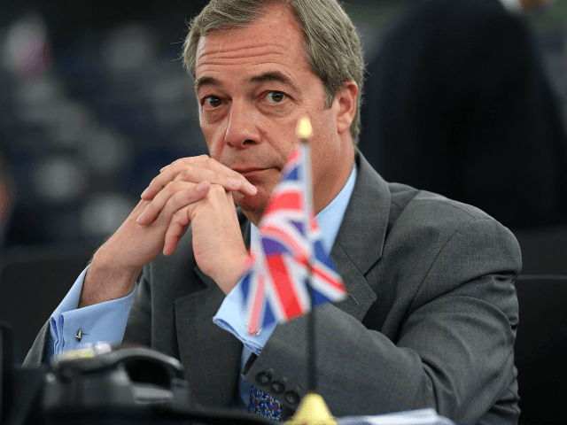 WATCH: Farage Says EU 'Bullies' are 'Hypocrites' for Attacking Trump's Steel Tariffs