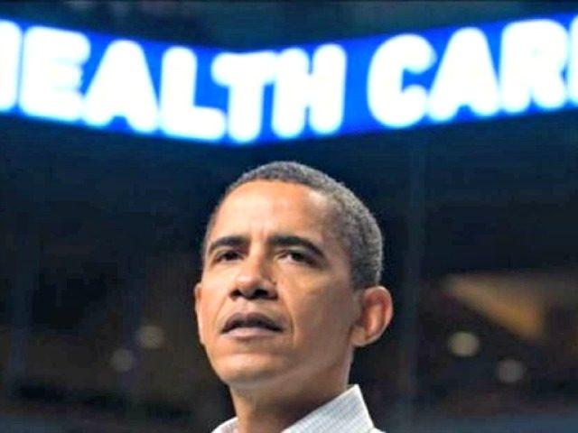 Obama, Healthcare Neon AP