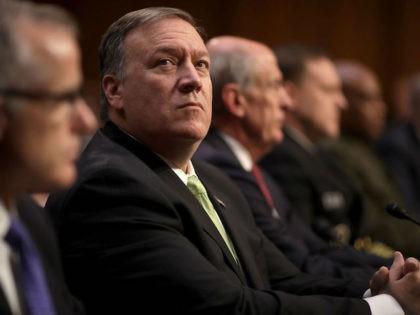 Intelligence Chiefs Testify At Senate Intelligence Hearing On World Wide Threats
