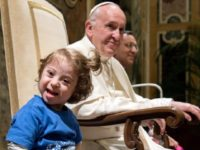 Pope Francis Condemns 'Eugenic' Mindset Behind Aborting Babies with Disabilities