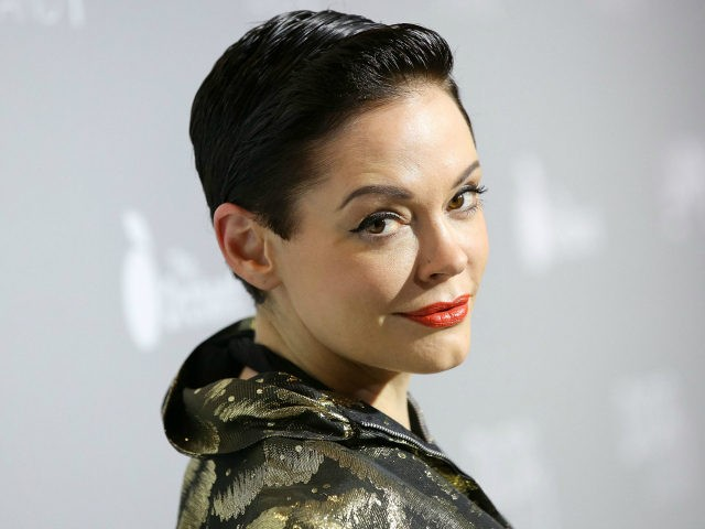 Actress Rose McGowan attends the premiere of The Orchard's 'DIOR & I' at LACMA on April 15, 2015 in Los Angeles, California. (Photo by Imeh Akpanudosen/Getty Images)