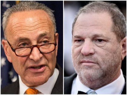 Chuck Schumer Latest Democrat to Donate Campaign Cash from Harvey Weinstein