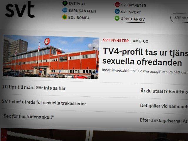 MeToo: Senior Manager at Swedish Public Broadcaster