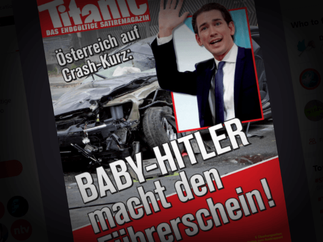 German Magazine Again Calls Sebastian Kurz Baby Hitler Next To