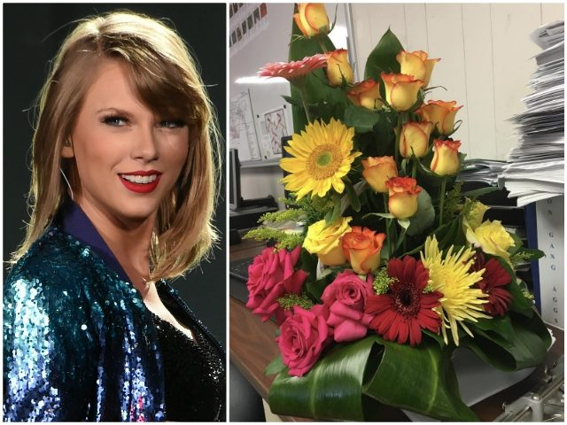 Taylor Swift Sends Flowers to Police Station After Vegas Shooting