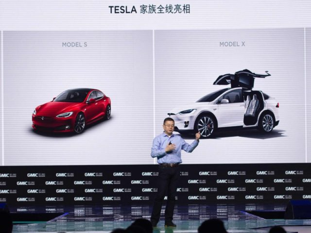 Tesla China (Nicolas Asfouri / AFP / Getty)