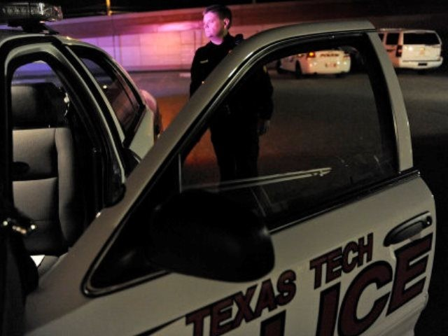 Texas Tech police officer reportedly shot dead, suspect at large