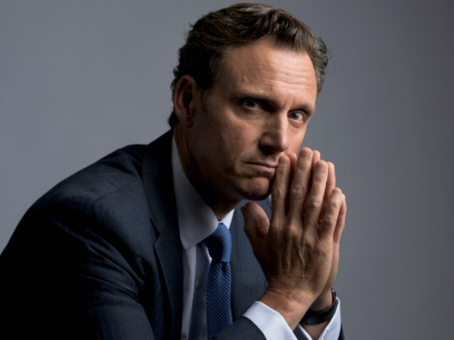 Tony Goldwyn poses for a portrait on Monday, Oct. 5, 2015 in New York. (Photo by Drew Gurian/Invision/AP)