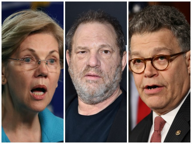 Elizabeth Warren, Booker, Franken More Democrats to Donate Campaign Cash from Harvey Weinstein