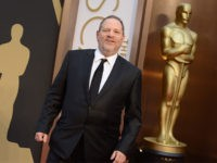 Harvey Weinstein arrives at the Oscars on Sunday, March 2, 2014, at the Dolby Theatre in Los Angeles. (Photo by Jordan Strauss/Invision/AP)