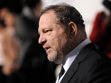 Harvey Weinstein attends The Weinstein Company and Lexus Present Lexus Short Films at the Directors Guild of America Theater on Thursday, Feb. 21, 2013, in Los Angeles. (Photo by Chris Pizzello/Invision/AP)