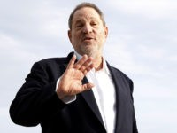 Harvey Weinstein, US film producer and executive producer of the TV series 'War and Peace', poses during a photocall at the MIPCOM audiovisual trade fair in Cannes, southeastern France, on October 5, 2015. Held each year on the French Riviera, the audiovisual trade fair brings together the movers and shakers …