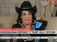 Dem Rep Frederica Wilson: WH Chief of Staff Kelly's 'Empty Barrel' Label a 'Racist Term'