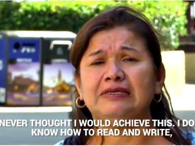 Woman becomes citizen NBC San Diego
