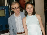 NEW YORK - SEPTEMBER 16: (HOLLYWOOD REPORTER OUT) Director/actor Woody Allen and wife Soon-Yi Previn attend a special screening of DreamWorks Pictures' 'Anything Else' at the Paris Theatre September 16, 2003 in New York City. (Photo by Evan Agostini/Getty Images)