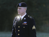 FILE - In this Jan. 12, 2016, file photo, Army Sgt. Bowe Bergdahl arrives for a pretrial hearing at Fort Bragg, N.C. Former Navy SEAL James Hatch who testified this week at Bergdahl's sentencing hearing on charges he endangered comrades by leaving his post in Afghanistan in 2009, has had eight years to think about the nighttime raid that ended with insurgent AK-47 spray ripping through his leg. Hatch said he's still angry at Bergdahl but doesn't envy the military judge who must decide his punishment after sentencing resumes Monday, Oct. 30, 2017. (AP Photo/Ted Richardson, File)