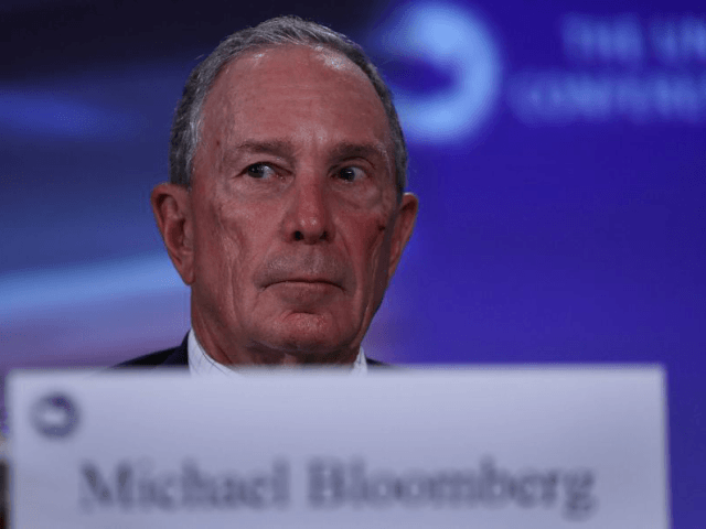 Former New York mayor Bloomberg is joining with California Governor Jerry Brown in an initiative to report on efforts by Americans to drive down greenhouse gas emissions