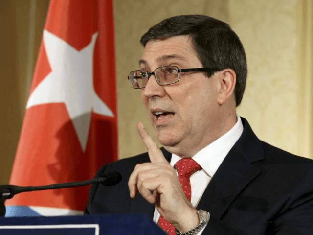 Cuban Foreign Minister Bruno Rodriguez Parilla