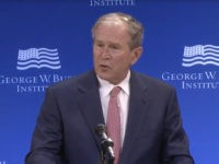 George W Bush: 'Bigotry Seems Emboldened, Our Politics Seem More Vulnerable to Conspiracy Theories and Outright Fabrication'