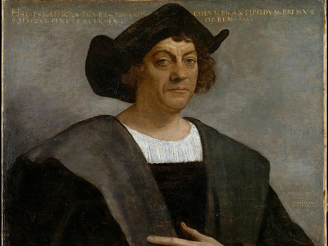 Portrait of Christopher Columbus, 1519. Found in the collection of Metropolitan Museum of Art, New York. Artist : Piombo, Sebastiano, del (1485-1547). (Photo by Fine Art Images/Heritage Images/Getty Images)