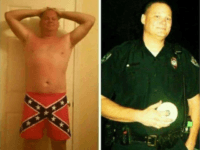 UNDERWEAR LEADS TO UNEMPLOYMENT.... Charleston, S.C. police officer Shannon Dildine decided to post a pic of himself in his rebel flag boxers. He's since been fired.
