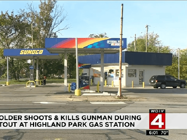 HIGHLAND PARK, Mich. - A concealed pistol license holder shot and killed a man who shot at him and others early Saturday in Highland Park, police said.