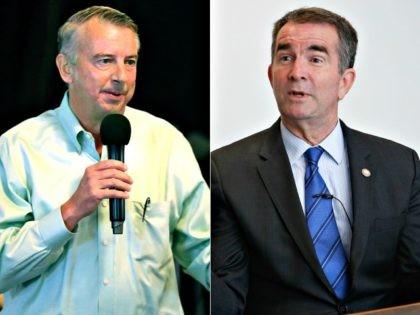 Democratic gubernatorial candidate Lt. Gov. Ralph Northam and GOP gubernatorial candidate Ed Gillespie
