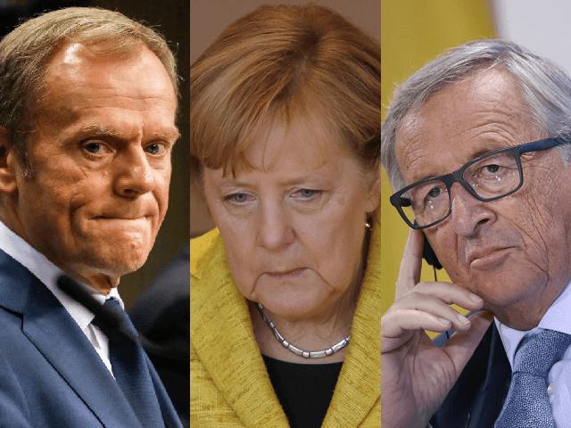eurocrats merkel juncker tusk