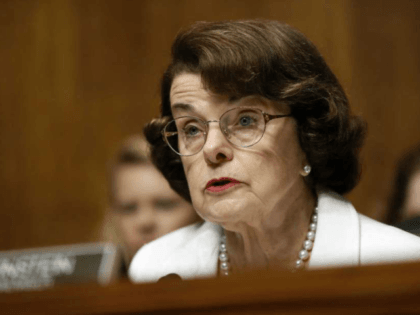 FILE - In this July 12, 2017, file photo, Sen. Dianne Feinstein, D-Calif., ranking member on the Senate Judiciary Committee, speaks on Capitol Hill in Washington. Feinstein is giving her strongest hints so far that she's going to seek a fifth full Senate term in 2018. She told NBC's ``Meet …