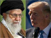 Ayatollah Khamenei and Donald Trump