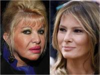 Ivana Trump and Melania Trump