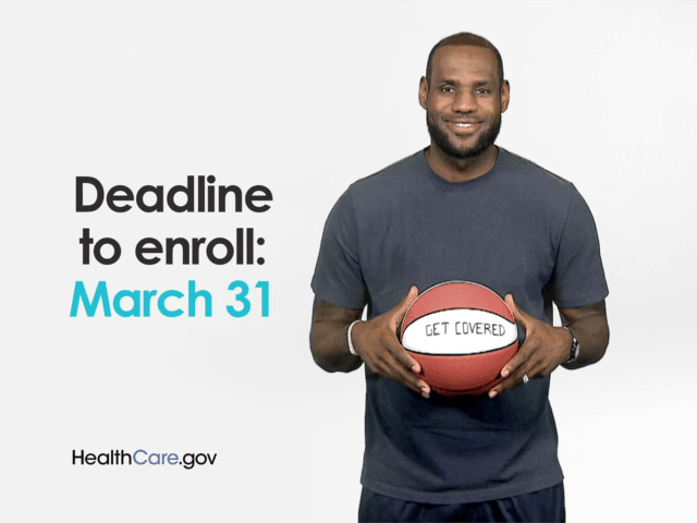 In his latest effort to increase the marketplace's visibility and drive young or uninsured Americans to the health care website, Obama reached out to four-time NBA Most Valuable Player LeBron James for a helping hand, according to Ethan Skolnick of Bleacher Report: