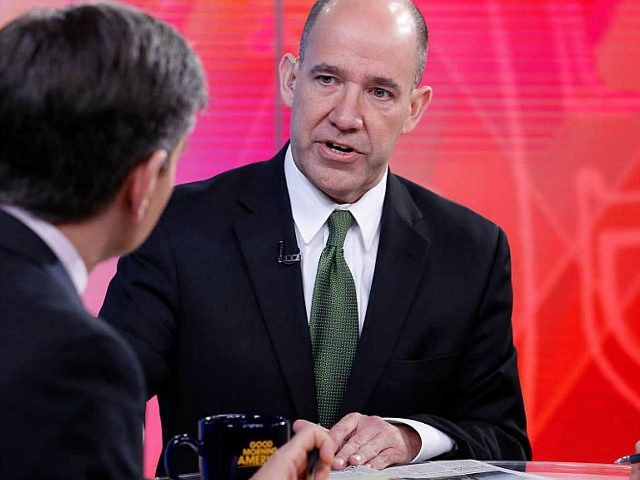 GOOD MORNING AMERICA - Coverage of GOOD MORNING AMERICA, 2/18/16, airing on the ABC Television Network. (Photo by Heidi Gutman/ABC via Getty Images) GEORGE STEPHANOPOULOS. MATTHEW DOWD