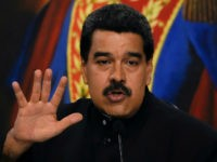 Venezuelan President Nicolas Maduro offers a press conference at the Miraflores presidential palace in Caracas on August 22, 2017. Chile said Tuesday it has granted diplomatic asylum to five Venezuelans who took refuge in its embassy in Caracas, amid political turmoil as Maduro moves to consolidate power. The five were …