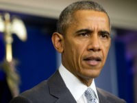 U.S. President Barack Obama makes a statement about multiple acts of violence in Paris in the Brady Press Briefing Room of the White House in Washington, D.C., U.S., on Friday, Nov. 13, 2015. Obama said the U.S. is prepared to provide whatever assistance France needs in the wake of terrorist …