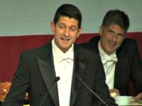 Paul Ryan Predicts Breitbart Outrage for Roasting Trump at Al Smith Dinner