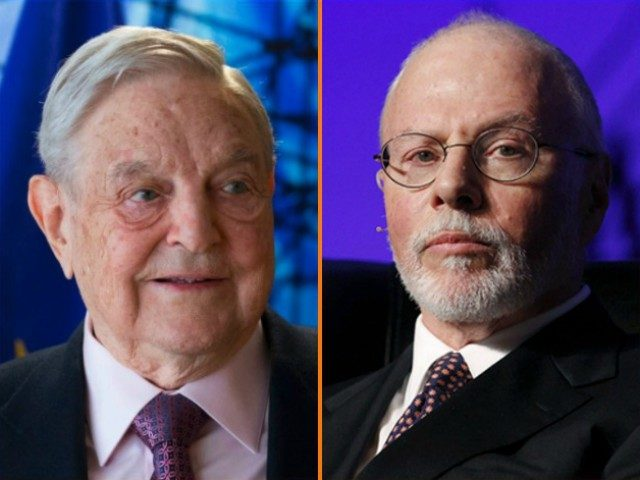 Billionaire hedge fund managers Paul Singer and George Soros define the ideological boundaries of the globalist opposition to the Trump agenda.