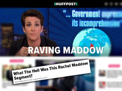Brutal: HuffPost Compares Rachel Maddow to Alex Jones for Fake News on Niger Ambush