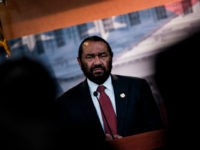 US Representative Al Green, Democrat of Texas, speaks about articles of impeachment for US President Donald Trump during a press conference on Capitol Hill June 7, 2017 in Washington, DC. Green submitted articles of impeachment against Trump Wednesday in the first legislative step for any congressional bid to remove the president from office. / AFP PHOTO / Brendan Smialowski (Photo credit should read BRENDAN SMIALOWSKI/AFP/Getty Images)