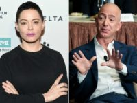 Rose McGowan Torches Jeff Bezos on Twitter: 'Stop Funding Rapists, Alleged Pedos, and Sexual Harassers'
