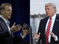 Donald Trump Rips 'Weak Leadership' by NFL on Anthem Protests Under Roger Goodell